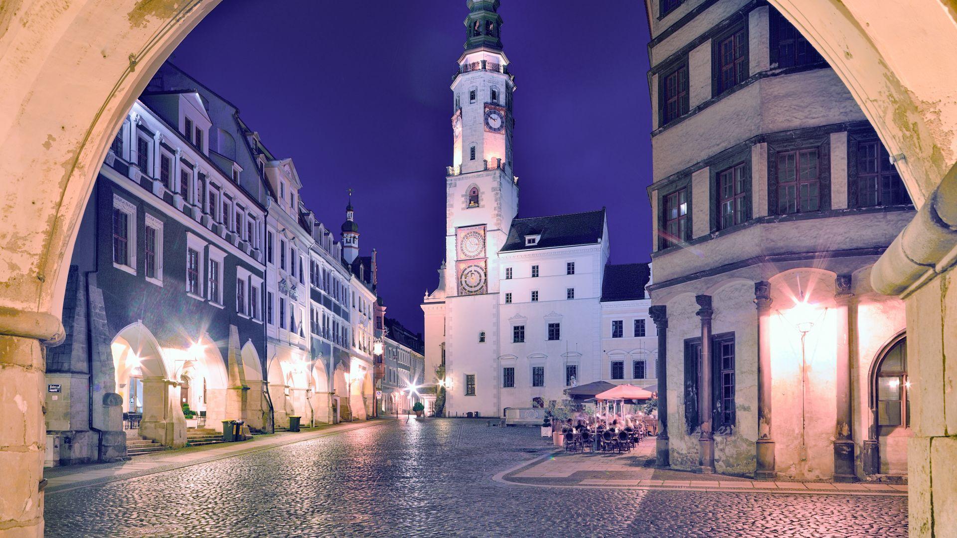 Görlitz: Das alte Rathaus am Untermarkt