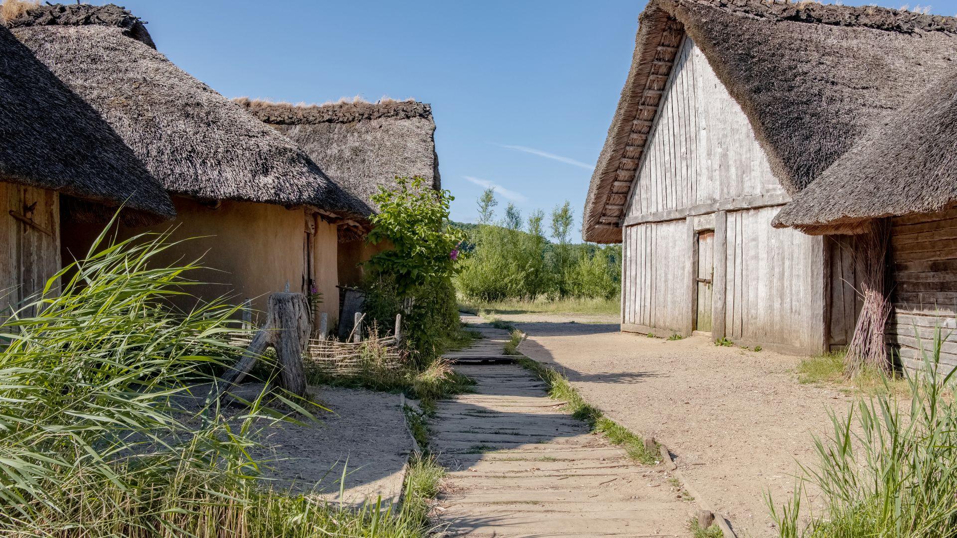 Busdorf: UNESCO Haithabu, colony of vikings
