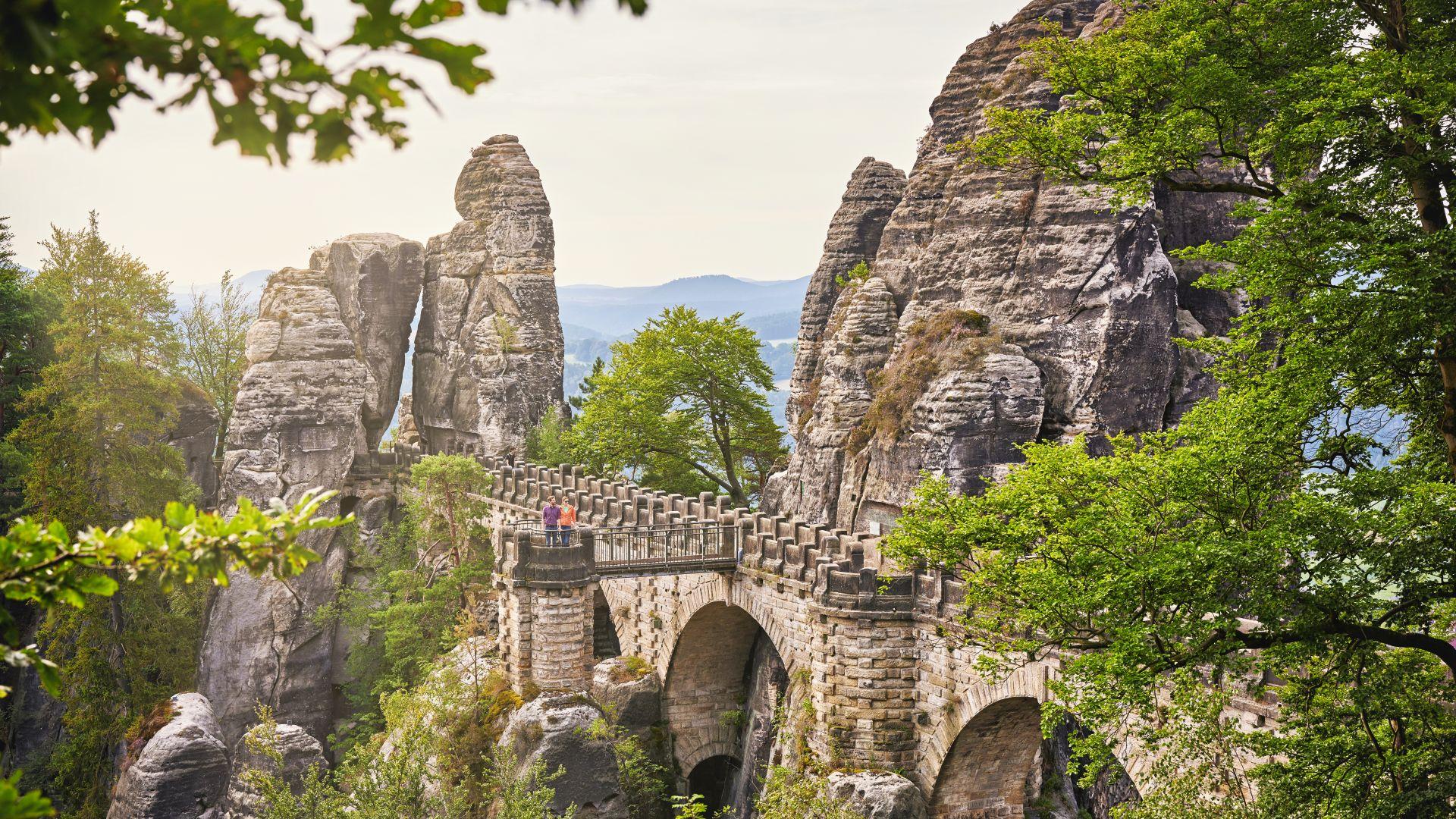 Saxon Switzerland: Hiking in the Elbsanstein Mountains