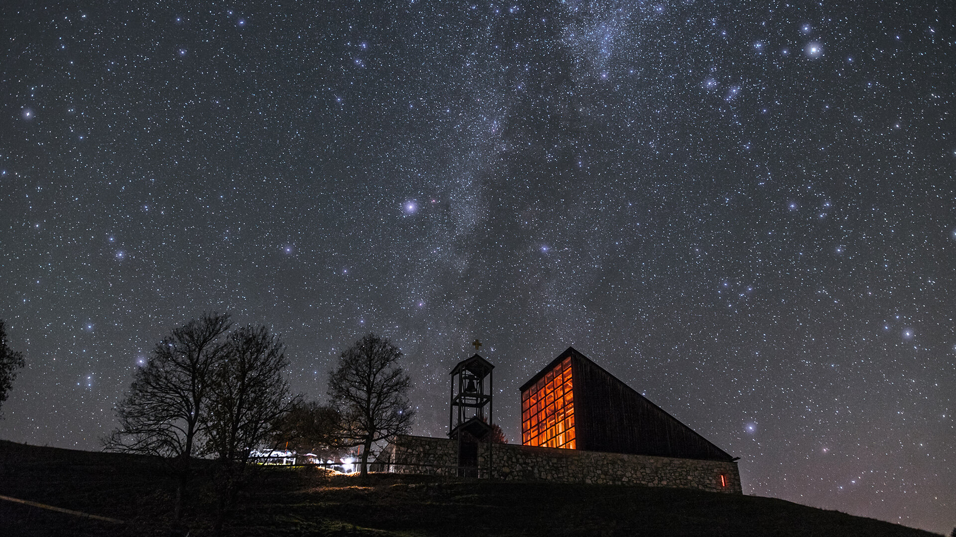 Reit im Winkl: Starry sky over the Winklmoos-Alm star park