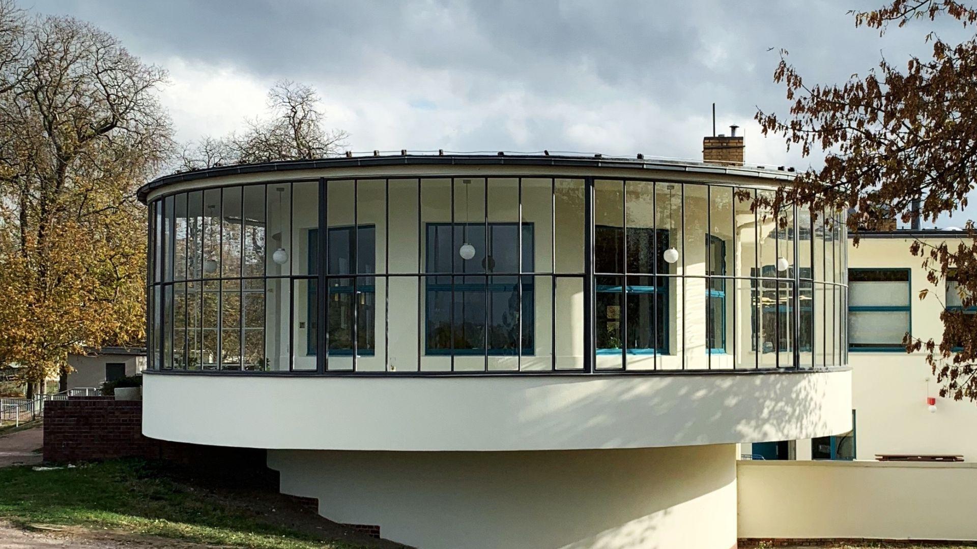 Dessau: Kornhouse, Dessau Roßlau, Architect: Carl Fieger, 1929/30