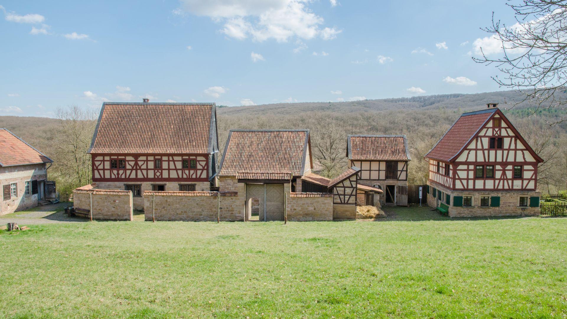 Bad Sobernheim: historic farms in the Bad Sobernheim open-air museum