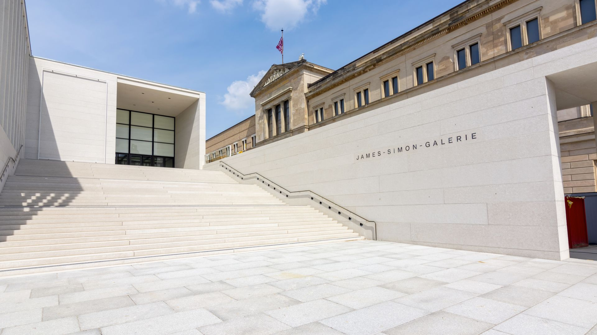 Berlin: James-Simon-Galerie auf der Museumsinsel