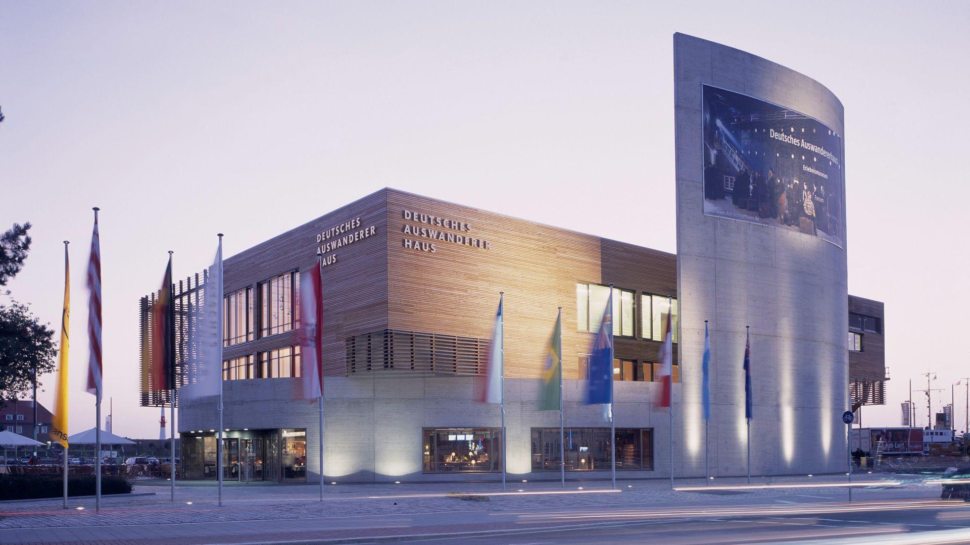 Bremerhaven: German Emigration Center, exterior view