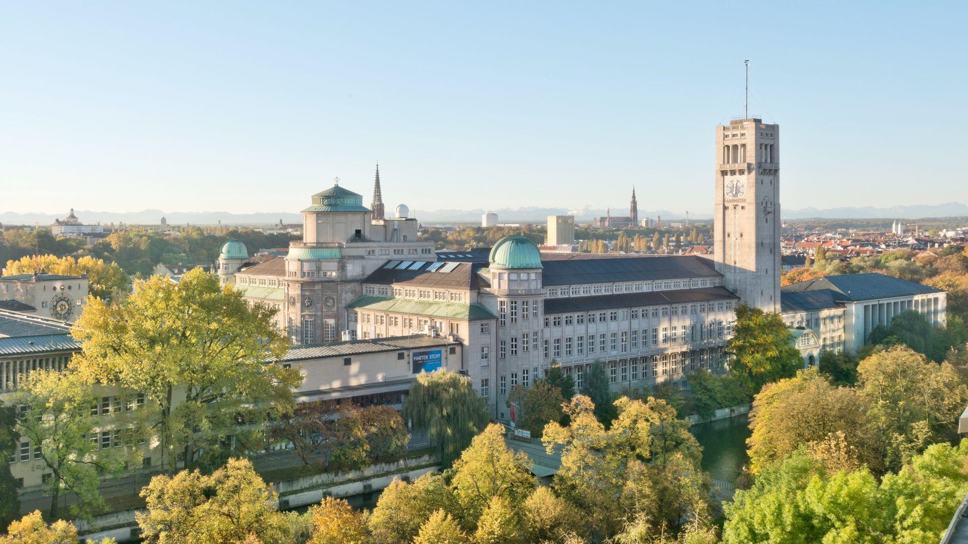 Munich: Deutsches Museum on Museum Island
