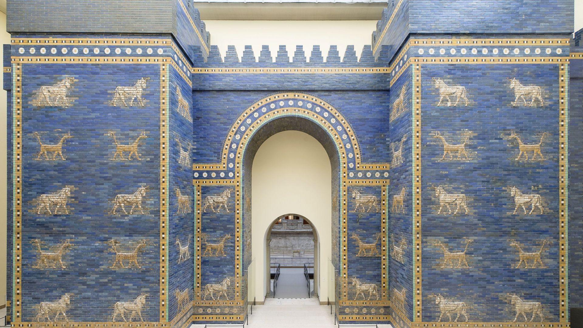 Berlin: Ishtar Gate in the Pergamon Museum